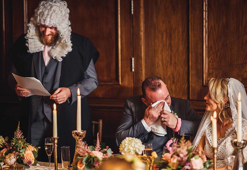 wedding speech props