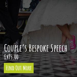 Couples Wedding Speech