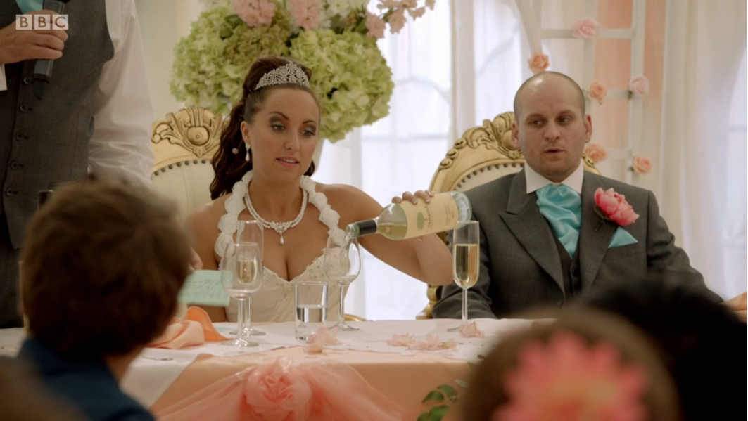 him and her wedding speech
